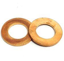 "1/8"" 1/4"" 3/8"" 1/2"" 5/8"" 3/4"" 7/8"" 1"" BSP British Standard Pipe Copper Washer"