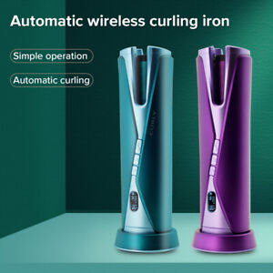Automatic Wireless Hair Roller & Iron,Styling Wave Hair for Women Easy To Use