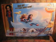 MATTEL DC SUPER HERO GIRLS-WONDER WOMAN and THE INVISIBLE JET NEW HUGE TOY + FIG