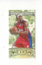 2008-09 Topps Treasury Mini Exclusives Al Thornton Clippers /278