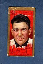 T205 [#46] Larry Doyle, Giants 1911 Gold Border Polar Bear tobacco card