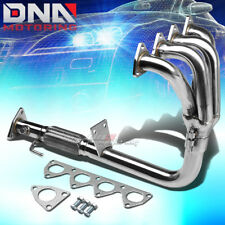 STAINLESS STEEL 4-1 HEADER FOR 97-01 PRELUDE BASE H22 2.2 BB6 EXHAUST/MANIFOLD
