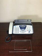 New Listingbrother Fax 575 Personal Plain Paper Fax Phone Amp Copier With Trays