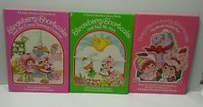 Lot of 3 STRAWBERRY SHORTCAKE HARDCOVER CHILDRENS BOOKS