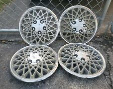 """Set of 4 OEM 1982-87 Chevy Cavalier Chevette 13"""" Hubcaps Wheel Covers 14032475"""