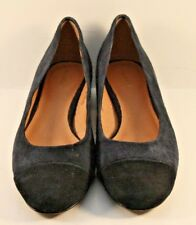 Halogen By Nordstrom Two Tone Suede Cap Toe Flats Womens Size US 6.5M