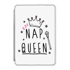 Nap Queen Case Cover for iPad Mini 4 - Funny Girly Girls