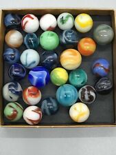 AKRO AGATE CHRISTENSEN ALLEY MARBLES VINTAGE SWIRL MARBLES MIXED MAKERS