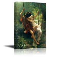 Spring Time by Pierre Auguste Cot Giclee Canvas Prints Gallery Wall Art - 24x36
