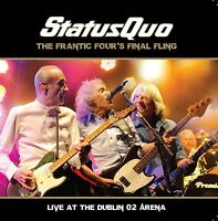 STATUS QUO - FRANTIC FOUR'S FINAL FLING-LIVE IN DUBLIN 2 CD NEU