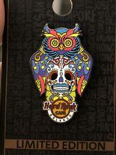 NEW Hard Rock Cafe Orlando 2020 Owl Sugar Skull Pin