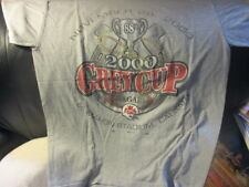 Original 2000 CALGARY STAMPEDERS Grey Cup Grey T Shirt Medium CFL Puma