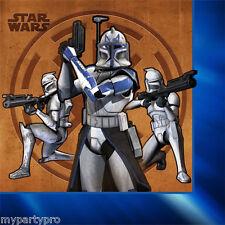 Star Wars Clone Wars Beverage/Dessert Napkins Birthday Party Supplies free ship