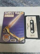 Msx robot wars aackosoft case spanish version