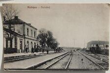 29605 AK Bahnhof Rixingen Lothringen 1915 CPA Réchicourt-le-Château Gare