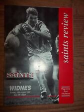 ST HELENS v WIDNES  (Friendly)  16/08/92
