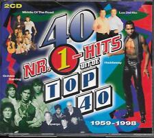 V/A - 40 NR. 1-Hits uit de Top 40 (2 CD BOX) Dino 1999 Holland Haddaway Baccara