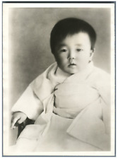 Japan, Prinsess Takanomiya at the age of one year  Vintage silver print Tirage
