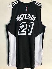 Adidas Swingman 2015-16 NBA Jersey Miami Heat Hassan Whiteside Black sz L