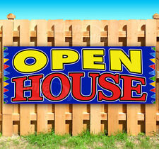 Open House Advertising Vinyl Banner Flag Sign Many Sizes Usa