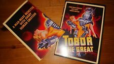 Tobor the great Dvd with poster Region 1 retro si fi 1954