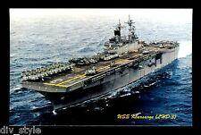 USS Kearsarge LHD-3 postcard  US Navy amphibious assault ship (cd2)