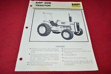 Massey Ferguson 30B Tractor Dealers Brochure YABE14