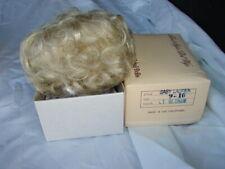 Doll Making Part Repair Wig Hair Global Modacrylic Baby Lauren 9-10 Lt Blonde