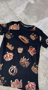 D&G t-shirt size M.Used Black