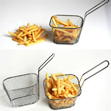 Stainless Steel French Fries Basket Fry Basket Kitchen Cooking Tool Strainer