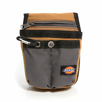 Dickies Work Gear 57005 Tool or Cell Phone Holder Utility Pouch Holster Grey/Tan