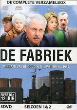 De Fabriek : de complete verzamelbox met o.a. Jeroen Krabbé (5 DVD)
