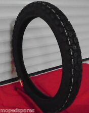 2.75-17 17 inch HONDA CT90, CT110 TRAIL TYPE CUSTOM MOPED TYRE, KNOBBLY TREAD