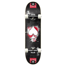 Yocaher Graphic Ace Black Complete Skateboard