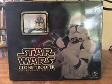 Gentle Giants Star Wars Clone Trooper 501st Special Ops Trooper Deluxe Collectib