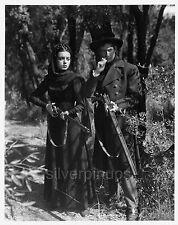 "Orig 1947 FAITH DOMERGUE with rifle.. Rare Portrait.. Howard Hughes ""VENDETTA"""