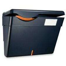 Oic Security Wall File With Wall Panel - Plastic - Black (OIC21472)