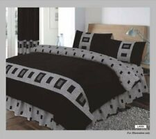 4Pcs Polyester Cotton Duvet Cover Complete Bed Set Star Lite