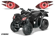 AMR Racing Arctic Cat Utility 250 2X4 ATV Headlight Decals Eye Sticker 06-09 CYR