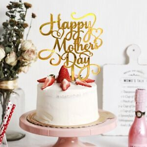 Acrylic Decor Party Suppllies Cake Decorations Cake Toppers Happy Mother's Day
