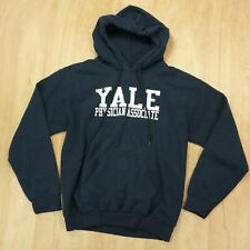 Yale hoodie hooded sweatshirt SMALL physician's assistant medical school college