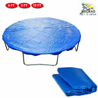 Blue Trampoline Rain Weather Dust Replacement Cover Protector Sheet 6 8 10 Feet