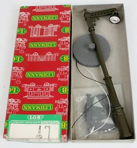 NEW LGB G Scale 5056 Lighted Double Lamppost Street Light w Base New w Box