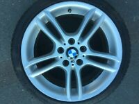"BMW 1 SERIES 18"" STYLE 261M REAR  8.5J ALLOY WHEEL E81 E82 E87 E88 7891051 #2"