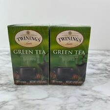 Twinnings 2 boxes of 20 Green teabags - Exp 1/23 & 9/22