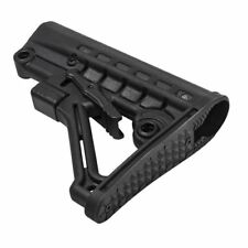 Tactical Rifle Mil Spec A-Frame 6 Position Collapsible Butt Stock Black