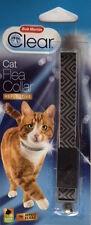 Bob Martin Transparent Cat Collier Anti-puce, Monochrome, Noir/ Blanc