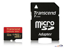 TRANSCEND MicroSDHC ULTIMATE 600x 32gb + ad 32 GB uhs-1 TS 32 GUSDHC 10u1 Micro OVP