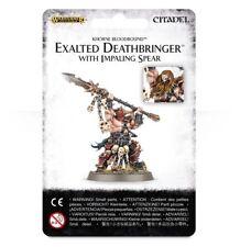 Warhammer AoS: Exalted Deathbringer (with Impaling Spear) GW (83-30) NIB