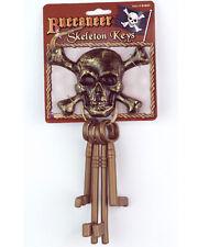 Plastic Skeleton Keys Pirate Costume Accessory